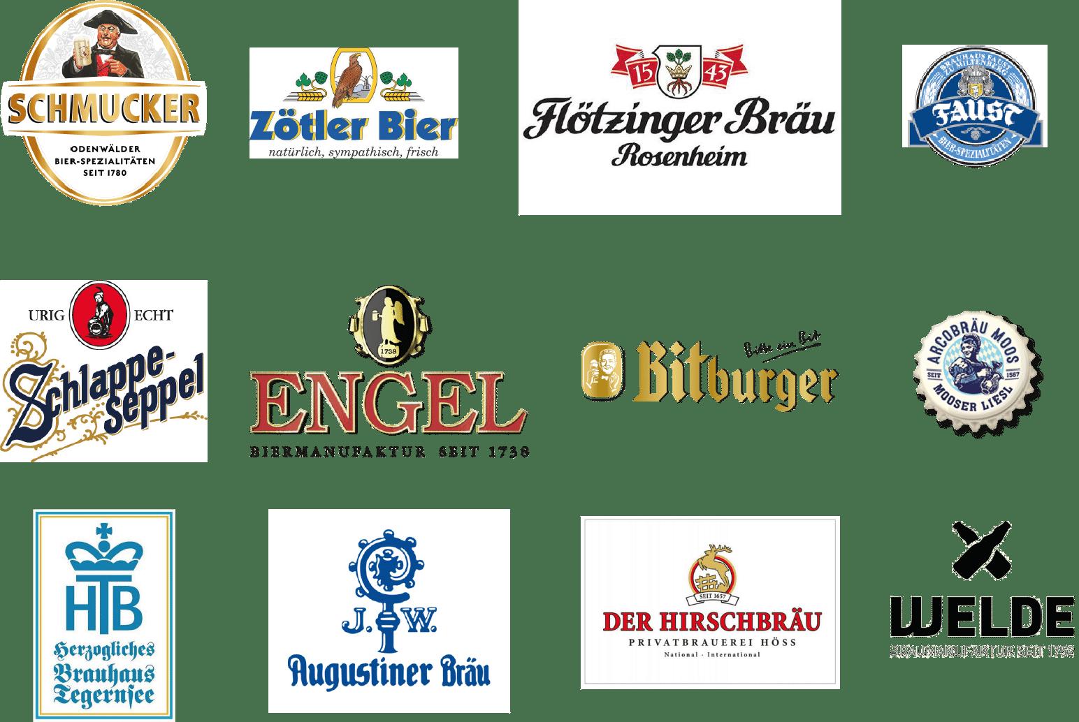 Sortimernt Bier - Getränke REXROTH